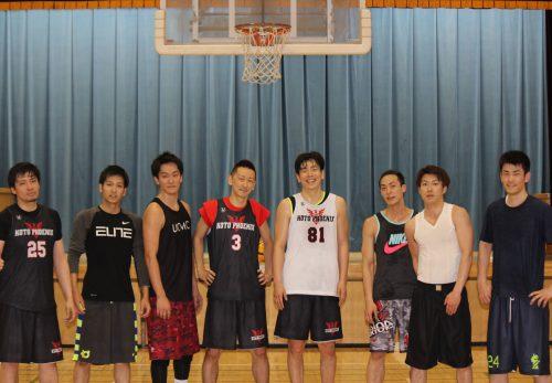 江東フェニックスの選手たち